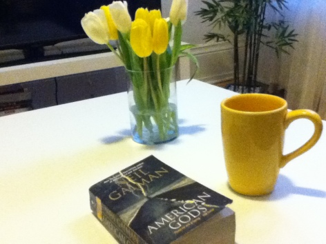 Coffee and my book..pure bliss.