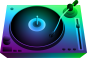 clipdj_turntable_neon_light