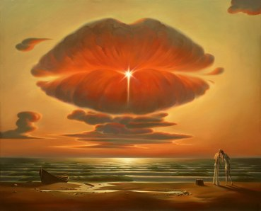 gemini russian-salvador-dali-surrealistic-paintings-by-vladimir-kush-1